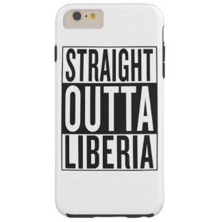 straight outta Liberia Tough iPhone 6 Plus Case