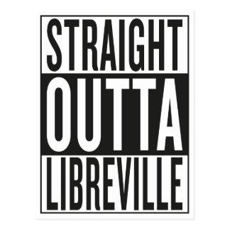 straight outta Libreville Postcard