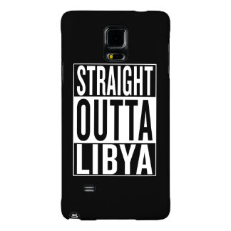 straight outta Libya Galaxy Note 4 Case