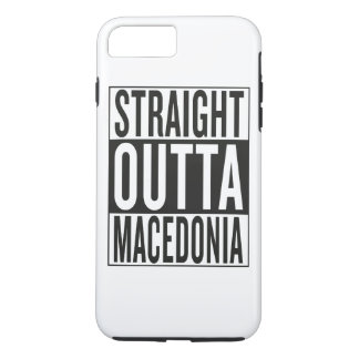 straight outta Macedonia iPhone 7 Plus Case