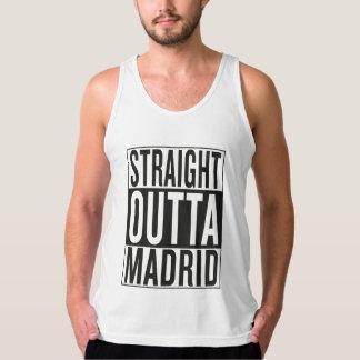 straight outta Madrid Singlet