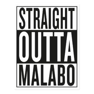 straight outta Malabo Postcard