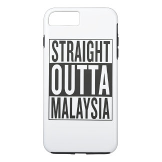 straight outta Malaysia iPhone 7 Plus Case