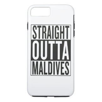 straight outta Maldives iPhone 7 Plus Case