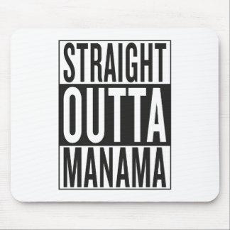 straight outta Manama Mouse Pad