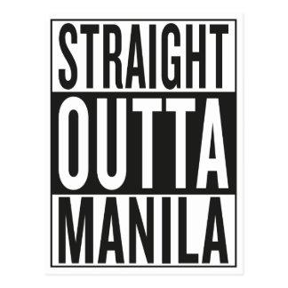 straight outta Manila Postcard