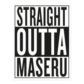 straight outta Maseru Postcard