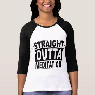 Straight Outta Meditation T-Shirt