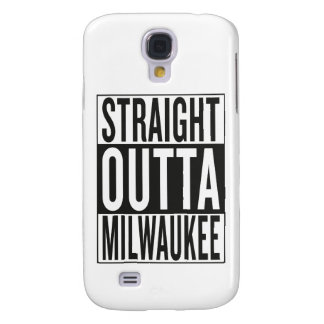straight outta Milwaukee Galaxy S4 Cover