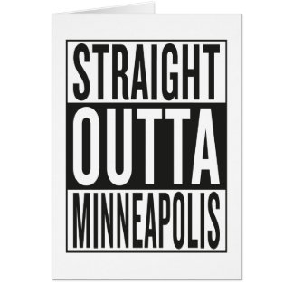 straight outta Minneapolis Card