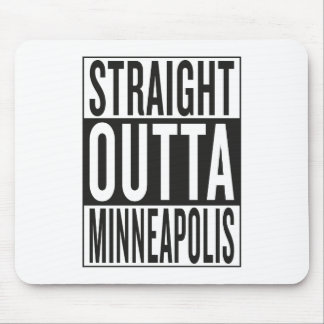 straight outta Minneapolis Mouse Pad