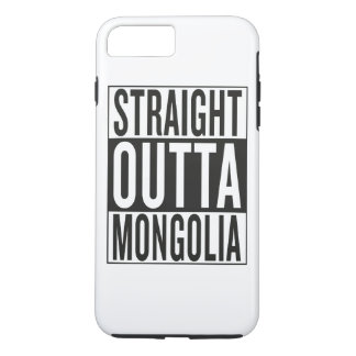straight outta Mongolia iPhone 7 Plus Case