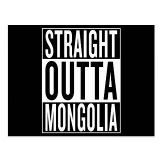 straight outta Mongolia Postcard