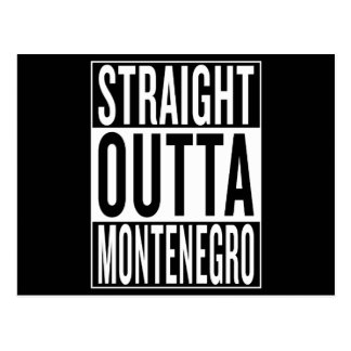 straight outta Montenegro Postcard