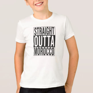 straight outta Morocco T-Shirt