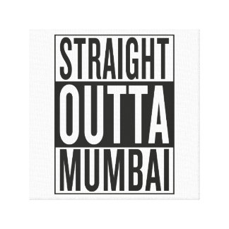 straight outta Mumbai Canvas Print