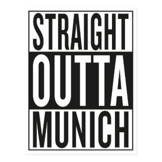 straight outta Munich Postcard