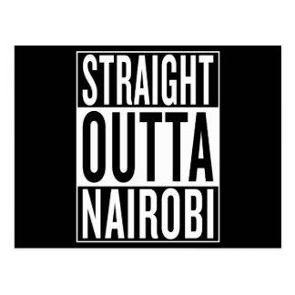 straight outta Nairobi Postcard