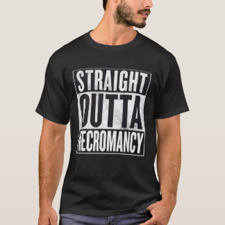 Straight Outta Necromancy Occult Graphic Tee