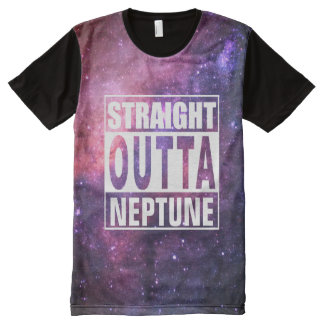 Straight Outta Neptune All-Over Print T-Shirt
