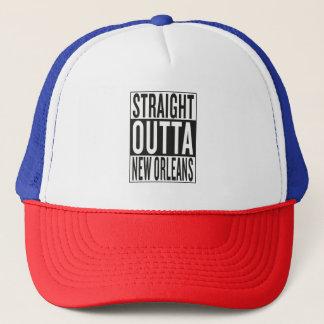 straight outta New Orleans Trucker Hat