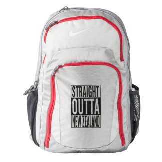 straight outta New Zealand Backpack