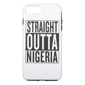 straight outta Nigeria iPhone 7 Plus Case
