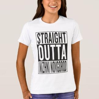 straight outta Nizhni Novgorod T-Shirt