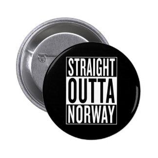 straight outta Norway 6 Cm Round Badge