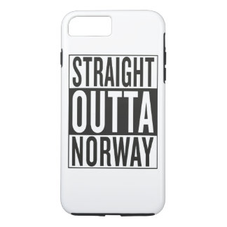 straight outta Norway iPhone 7 Plus Case