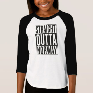 straight outta Norway T-Shirt