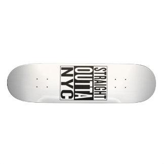 straight outta NYC 21.6 Cm Skateboard Deck