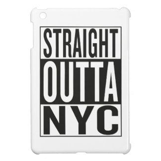 straight outta NYC Cover For The iPad Mini