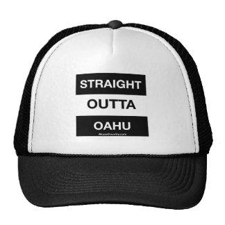 STRAIGHT OUTTA OAHU TRUCKER HAT