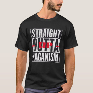 Straight Outta Paganism Occult Graphic Tee