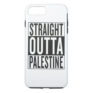 straight outta Palestine iPhone 7 Plus Case