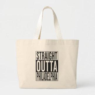 straight outta Philadelphia Large Tote Bag