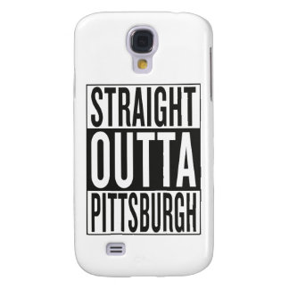 straight outta Pittsburgh Samsung Galaxy S4 Cases