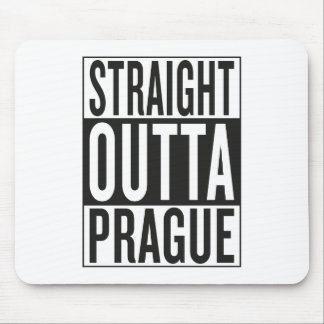 straight outta Prague Mouse Pad