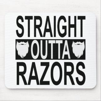 Straight Outta Razors   FB.com/USAPatriotGraphics Mouse Pad