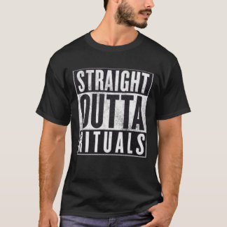 Straight Outta Rituals Occult Graphic Tee