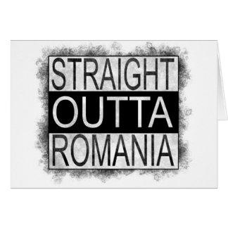 Straight Outta Romania Card