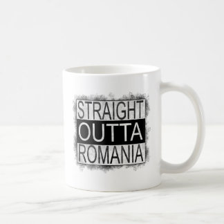 Straight Outta Romania Coffee Mug
