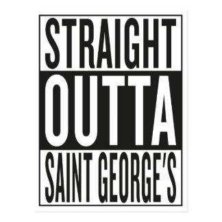 straight outta Saint George's Postcard