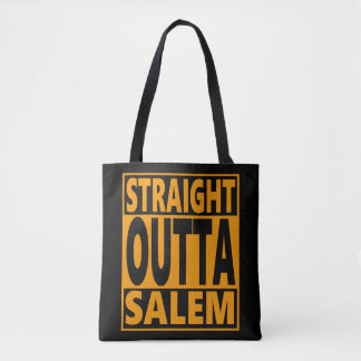 Straight Outta Salem Halloween Fanatic Tote Bag