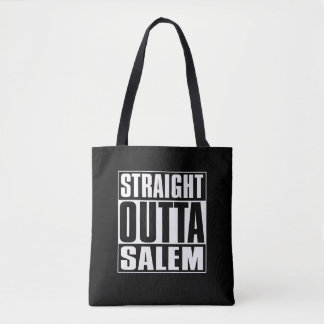 Straight Outta Salem Tote Bag