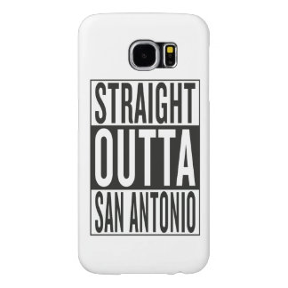 straight outta San Antonio Samsung Galaxy S6 Cases