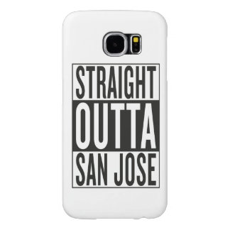 straight outta San Jose Samsung Galaxy S6 Cases