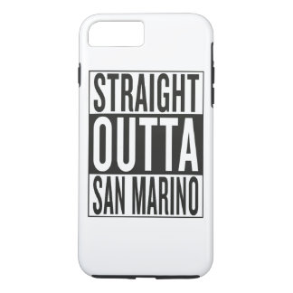 straight outta San Marino iPhone 7 Plus Case