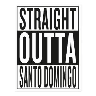 straight outta Santo Domingo Postcard